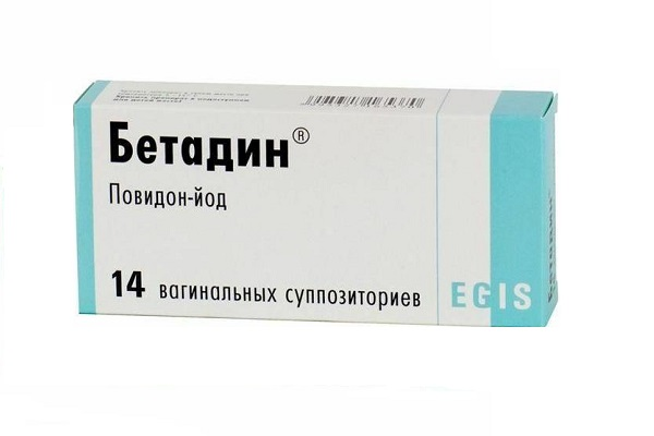 бетадин от молочницы при беременности