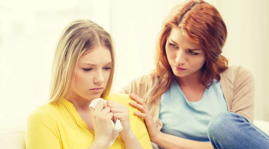 Как поддержать дочь в трудную минуту