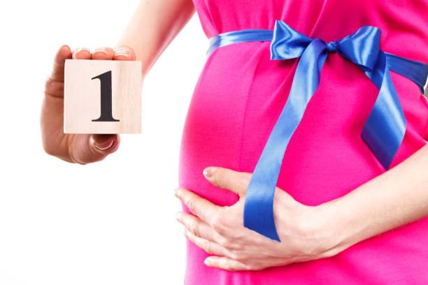 1 mesyats beremennosti - Первый месяц беременности
