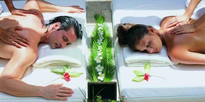 Спа-массаж для двоих