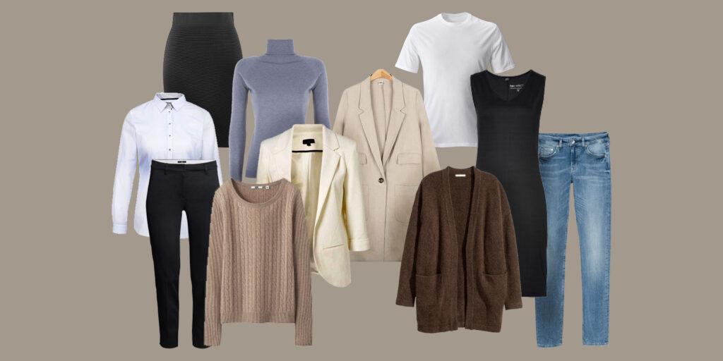 Базовый гардероб: проверьте всё ли на месте