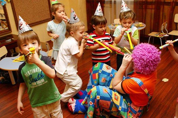 День рождения ребенка дома