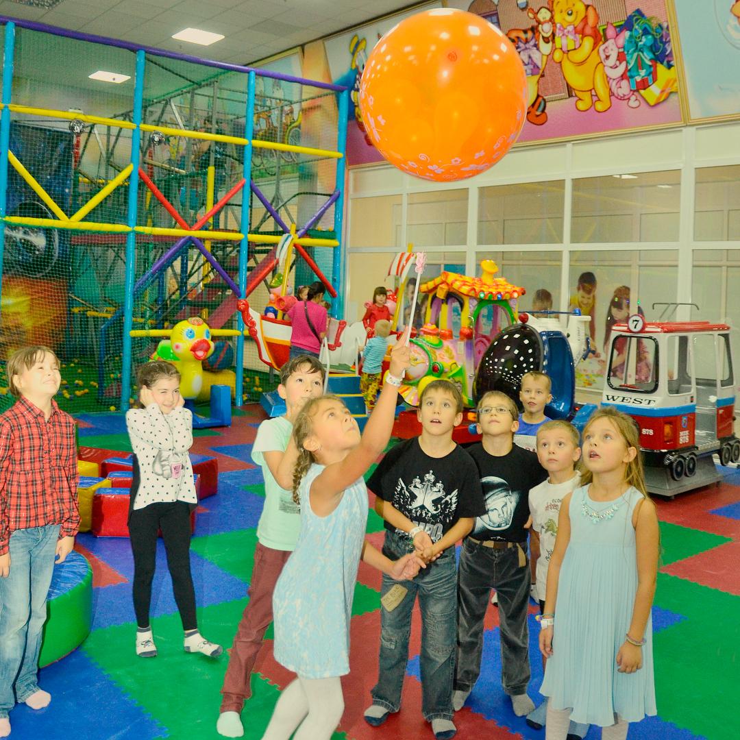 День рождения в детском игровом центре