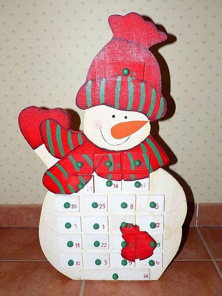 File:Schneemann-Weihnachtskalender.JPG