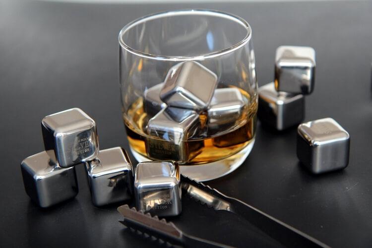 Кубики для виски, металл