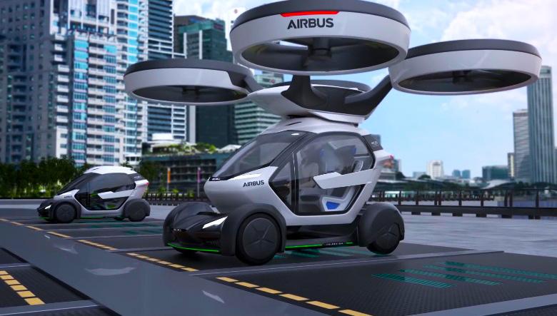 Летающие беспилотные электромашины . Автомобили будущего