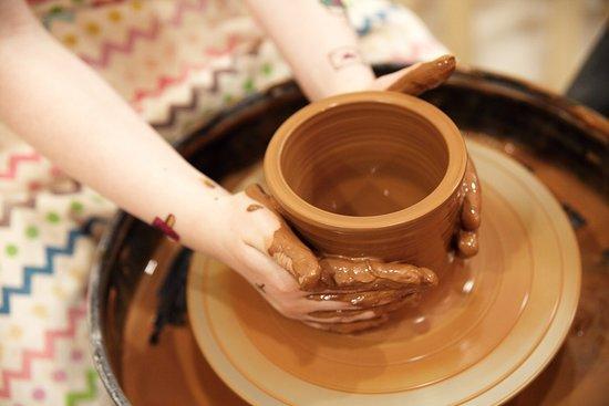 занятия глиной с детьми