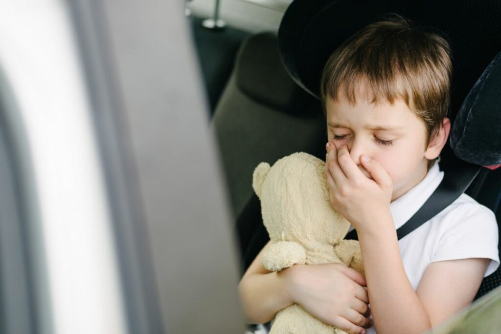 Укачивание детей в транспорте
