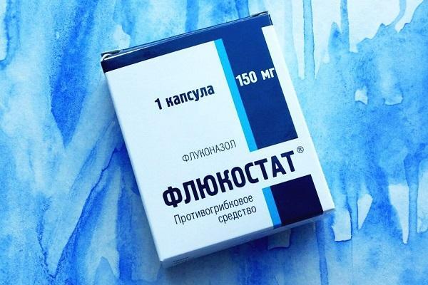Таблетки Флюкостат для лечения молочницы