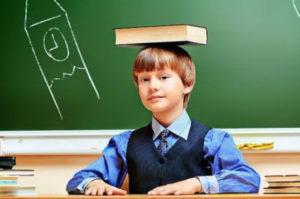 Формирование правильной осанки у ребенка и учёба