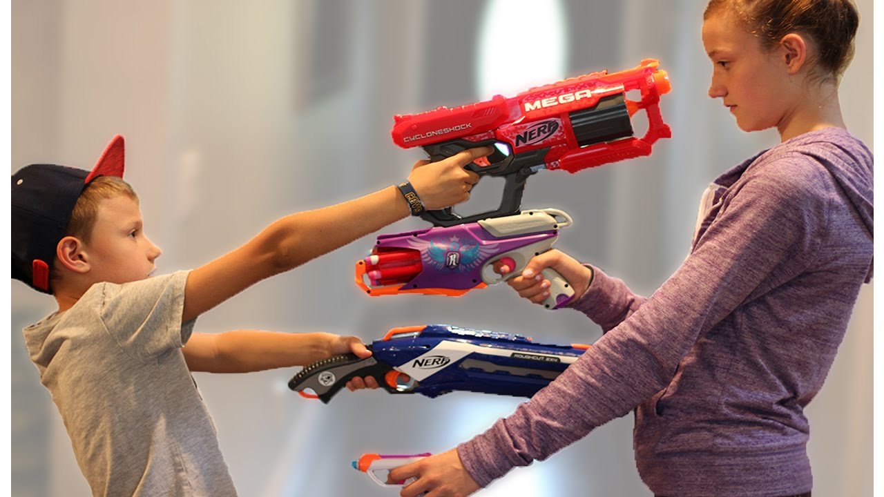 Бластеры Nerf/ Почему мальчикам так важны игрушки-оружие?