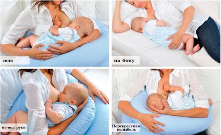 Правильное прикладывание при грудном вскармливании