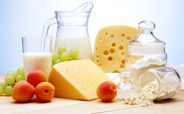 Молочные продукты.