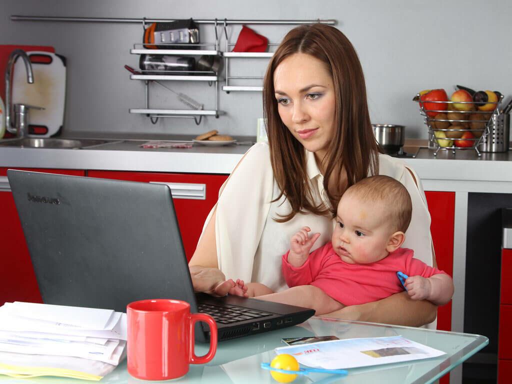 Дополнительный заработок для мам в декрете. 6 способов