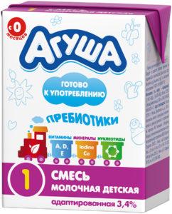 Молочная смесь Агуша