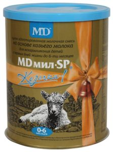 Молочная смесь MDмил SP Козочка