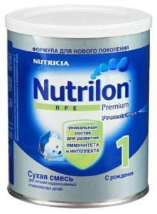 Молочная смесь NUTRILON ПРЕ