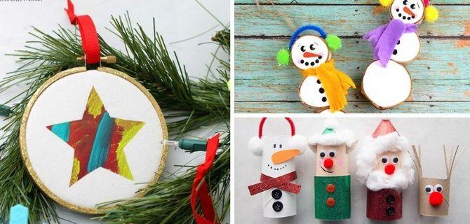 елочные украшения из бумаги снеговики