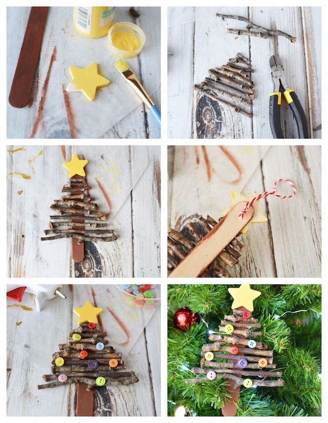 новогодние игрушки на елку +своими руками