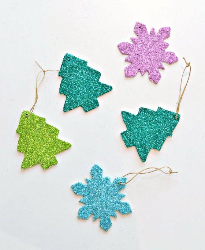 украшаем окна снежинками +к новому году