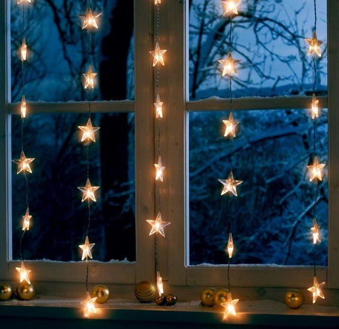украшаем окна к новому году шаблоны