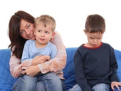 Проявления детской ревности