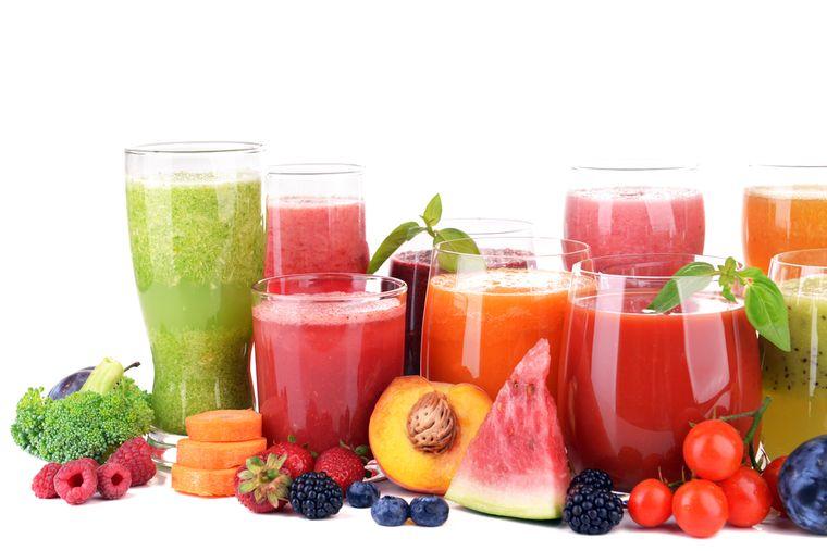 фрукты и фруктовые соки