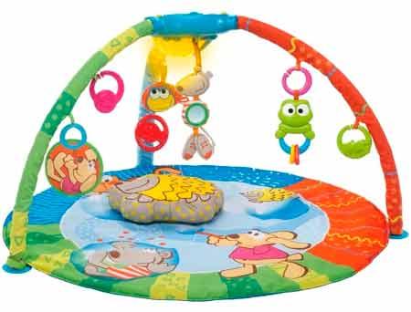15 лучших развивающих ковриков для детей - рейтинг 2020