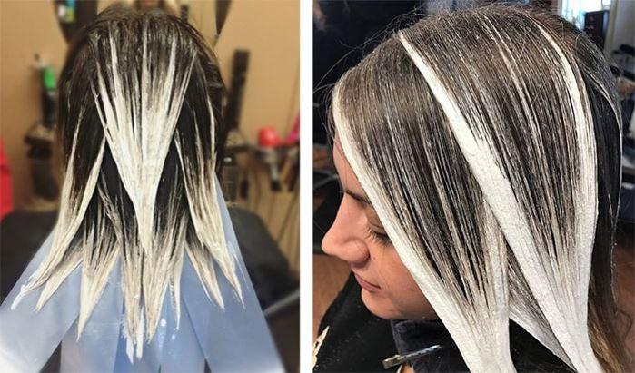 Шатуш на темные волосы дома: пошаговая инструкция и нюансы выполнения